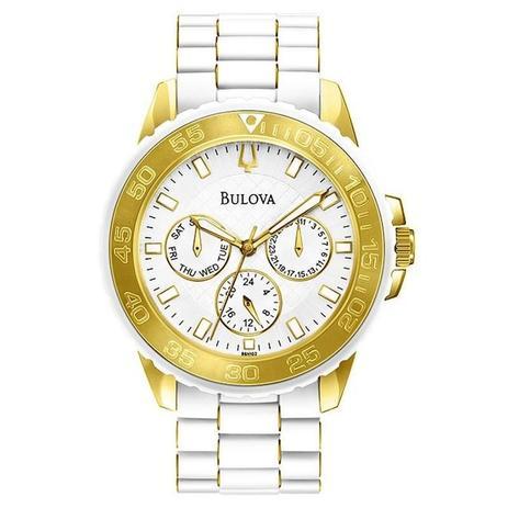 b7091e7b4db Relógio Bulova Feminino - WB31765B - Magnum - Relógio Feminino ...