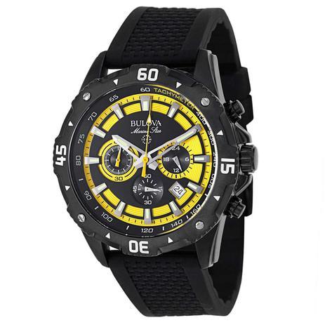 d7fd71bc13a Relógio Bulova Marine Star Cronógrafo Sport Masculino WB31798Y ...