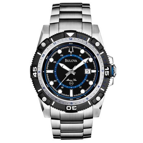 5ba949c628c Relógio Bulova Marine Star Wb31729f   98b177 - Relógio Masculino ...