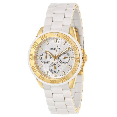 a55f5a0dc92 Relógio Bulova Marine Star WB31765B   98N102 - Relógio Feminino ...