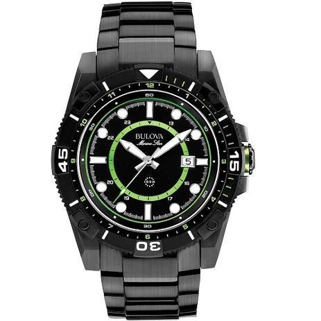 ccfb6df168b Relógio Bulova Masculino Marine Star WB31729G - Relógio Masculino ...