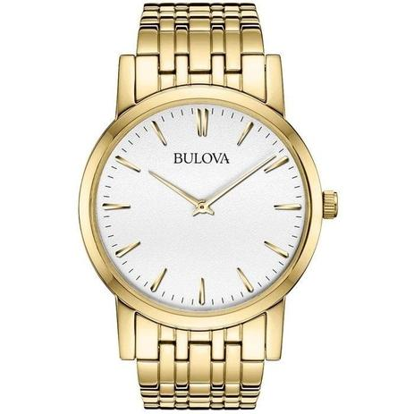 e615f7e3877 Relógio Bulova Masculino Ref  Wb21669h Slim - Relógio Masculino ...