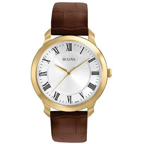 6b928fd6021 Relógio Bulova Masculino Ref  Wb21918s Slim Rosê - Relógio Masculino ...