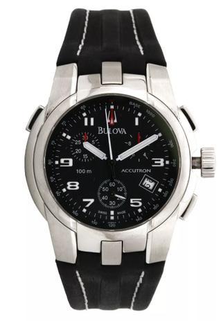 59747090eef Relógio Bulova Suiço Accutron Wb30677p - Relógio Masculino ...