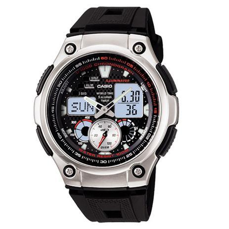 3db69f3e2a52b Relógio Casio Anadig Masculino AQ-190W-1AVDF - - Relógios - Magazine ...