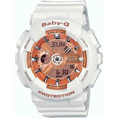 59b0db477ce Relógio Casio Baby-G BA-110-7A1DR Original Garantia - Relógios ...