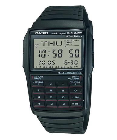 f27257f1614 Relógio Casio Data Bank Masculino Dbc-32-1adf - Relógio Masculino ...