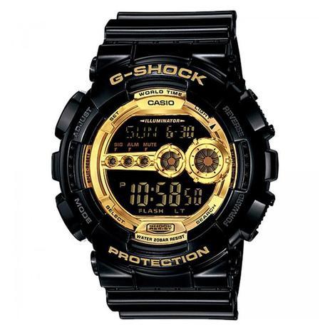 6a57204cbb9 Relógio Casio Digital Masculino G-Shock - GD-100GB-1DR - Relógio ...