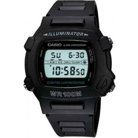fdc3eefc077 Relógio Casio Digital W-740-1VS Preto - Relógios e Relojoaria ...