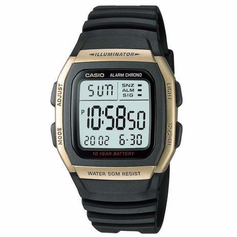 769a2c92f5d Relógio Casio Digital W-96H-9AVDF Preto - Relógios e Relojoaria ...