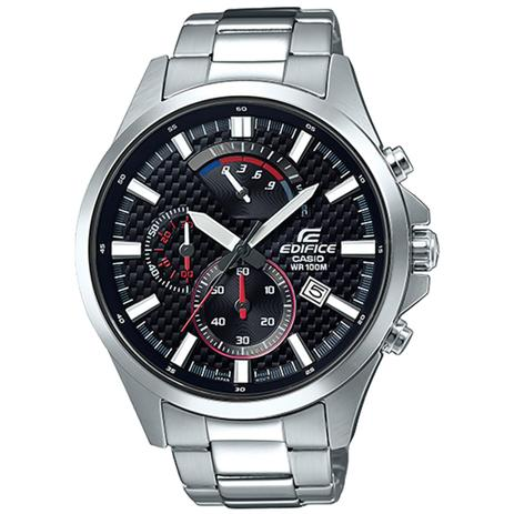 88ac4972c1d Relógio Casio Edifice Analógico Cronógrafo Masculino EFV-530D-1AVUDF ...