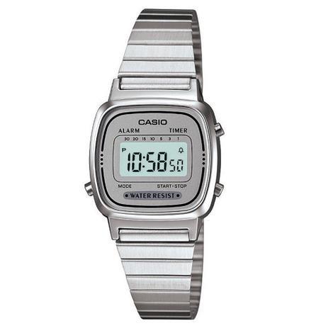 Relógio Casio Feminino Digital Vintage LA670WA-7DF - Relógio ... 121fcdd582
