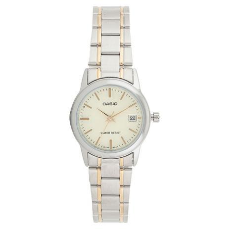 d2814f3d86e Relógio Casio Feminino Prata LTPV002SG9AUDF - Relógio Feminino ...
