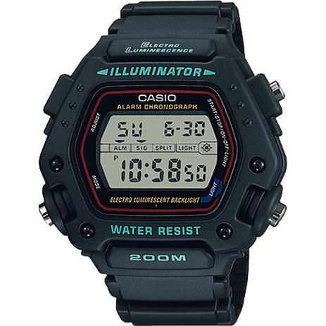 00181823ff2 Relógio casio illuminator masculino dw-290-1vs - Relógios - Magazine ...
