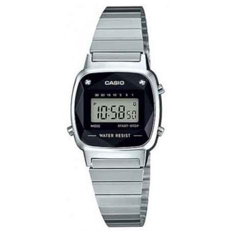 b9e76918b23 Relógio Casio La670wad 1df Diamante Prata Retro Vintage Original ...