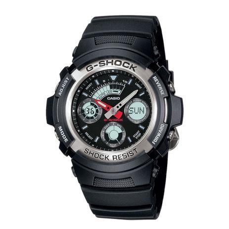 326fcf92f5e Relógio Casio Masculino G-Shock Analógico Digital AW-590-1ADR - Casio