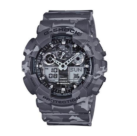 703a393f483 Relógio Casio Masculino G-Shock GA-100CM-8ADR - Relógio Masculino ...