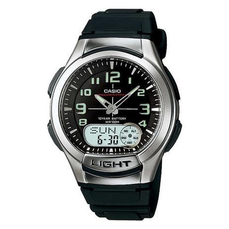 79e182bd2a10 Relógio Casio Masculino Illuminator AQ-180W-1BVDF. - Relógio ...