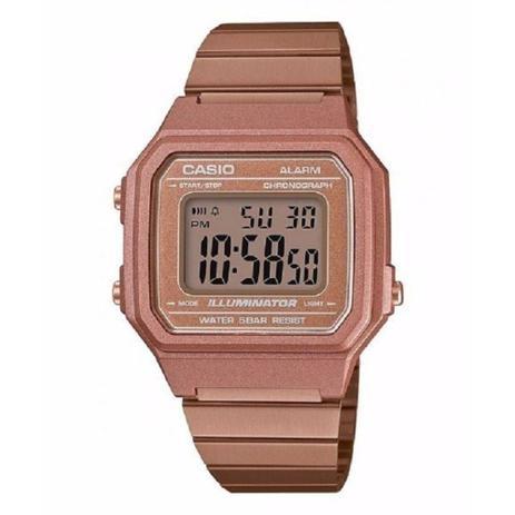a054c45210b Relógio casio rose feminino retro b650wc5adf - Relógio Feminino ...