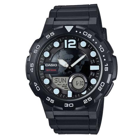 Relógio Casio Standard Digital Masculino AEQ-100W-1A - Relógio ... 42b4b3ed51