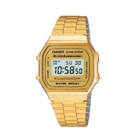 53f35442c00 Relógio Casio Unissex Vintage A168wg-9wdf - Relógio Masculino ...