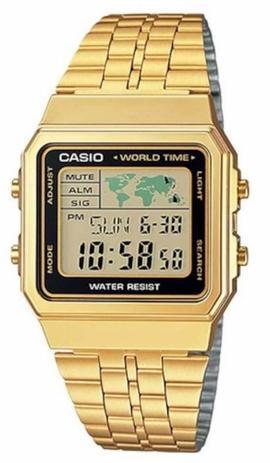 828ab3fbe07c Relógio casio unissex vintage a500wga-1df - Relógio Masculino ...