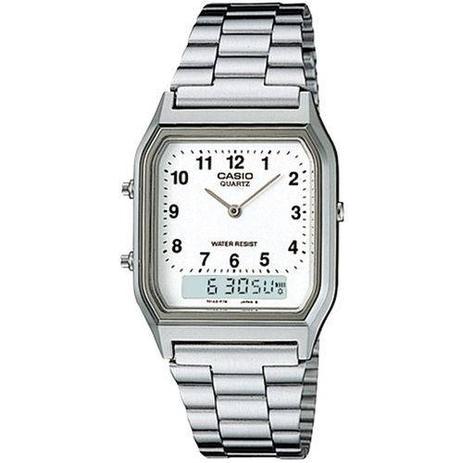 768e5519e Relógio Casio Vintage Aq-230a-7bmq - Relógio Feminino - Magazine Luiza