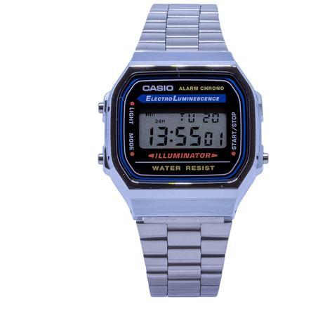 7f620afc9 Relógio Casio Vintage Digital Unissex - A168WA1DFU - Relógio ...
