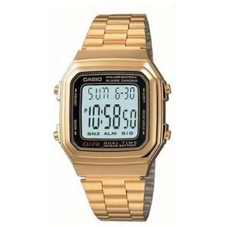684350d93bfc Relógio Casio Vintage Digital Unissex A178WGA-1ADF - Relógio ...