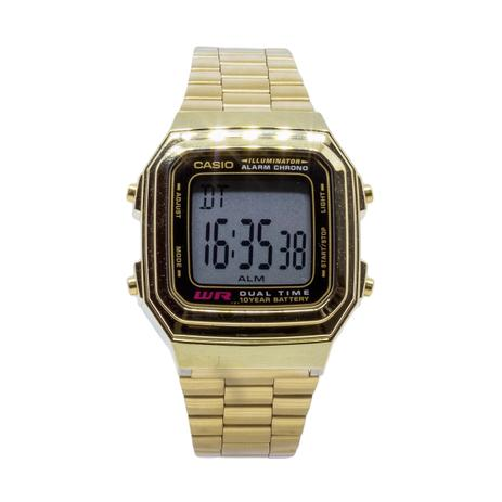 b81e69ee615 Relógio Casio Vintage Digital Unissex - A178WGA1ADFU - Relógio ...