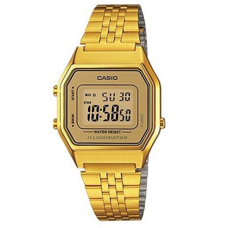 8b98ba5ca4b Relógio Casio Vintage Digital Unissex LA680WGA-9DF - Relógio ...