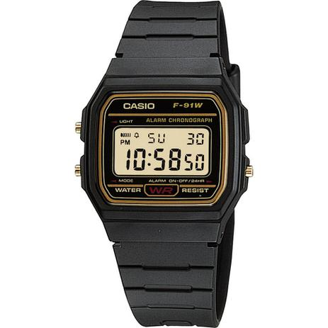 40c7519aeb3 Relógio Casio Vintage f-91wg-9qdf - Relógio Masculino - Magazine Luiza
