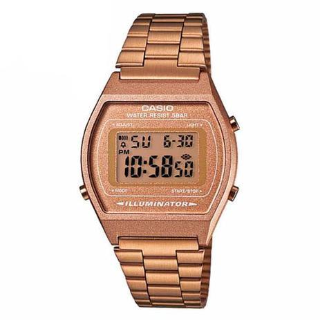 972b280d66b Relógio Casio Vintage Unissex ROSE B640WC-5ADF - Relógio Masculino ...