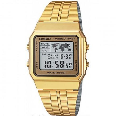 9dcca3d59ea Relógio Casio Vintage World Time A500wga-9df - Relógios - Magazine Luiza