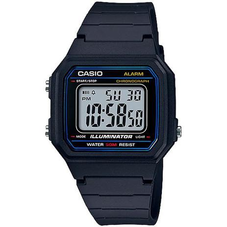 9c09f5fb8661 Relógio Casio W-217H-1AVDF Alarme Cronômetro - Relógios ...