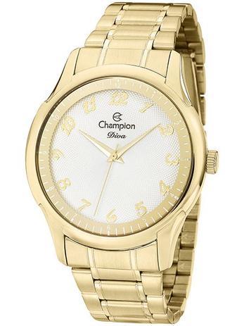 29f20d0b41cfc Relógio Champion Diva Feminino Dourado CN27625H - Relógio Feminino ...