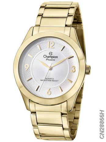 c2f103eb756 Relógio Champion Dourado Feminino Passion CN28866H - Relógio ...