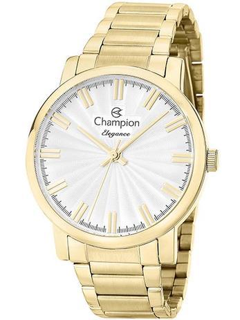 b7b50e0978d Relógio Champion Elegance Feminino Dourado CN26037H - Relógio ...