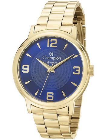 a520ca35bee Relógio Champion Elegance Feminino Dourado CN26126A - Relógio ...