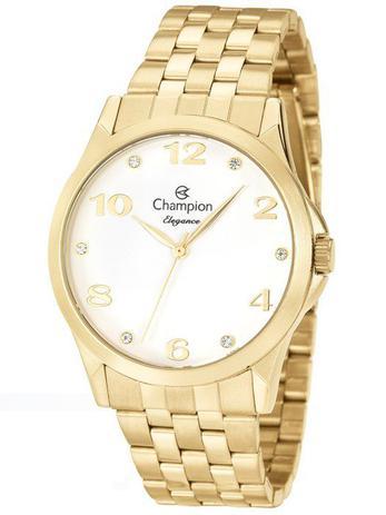 5cfa37364af Relógio Champion Elegance Feminino Dourado CN26260H - Relógio ...