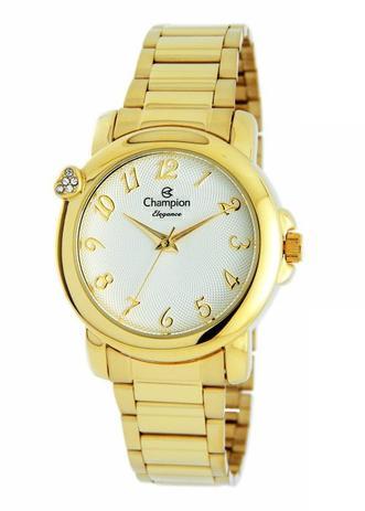 9dae2c5003b Relógio Champion Elegance Feminino Dourado CN26626H - Relógio ...