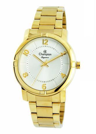 5fa149ce52b Relógio Champion Elegance Feminino Dourado CN26644H - Relógio ...