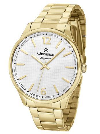 4b91d4a1a26 Relógio Champion Elegance Feminino Dourado CN27670H - Relógio ...