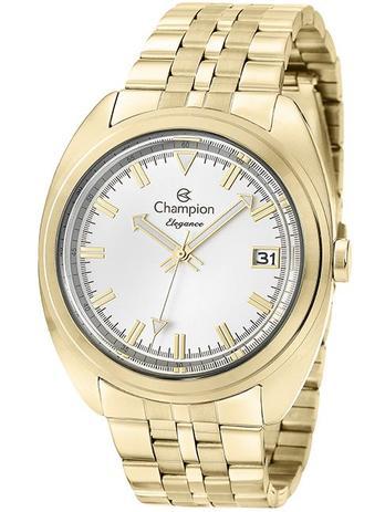 1809a09b22f Relógio Champion Elegance Feminino Dourado CN27689H - Relógio ...