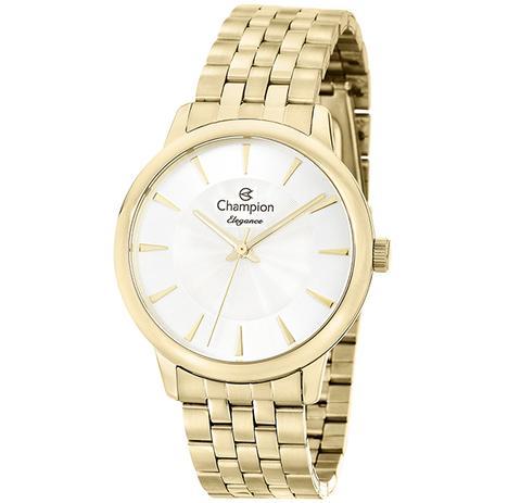 929b2c4db46 Relógio Champion Elegance Feminino Dourado CN27750H - Relógio ...