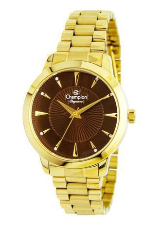 a951b406d17 Relógio Champion Elegance Feminino Marrom CN25092R - Relógio ...
