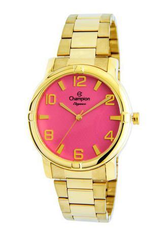 928ce35800a9 Relógio Champion Elegance Feminino Rosa CN25181L