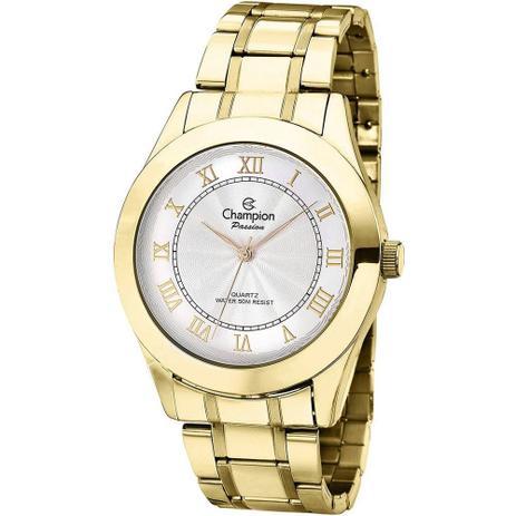 6e338c94a27 Relógio Champion Feminino Analógico Dourado CH24544H - Relógio ...