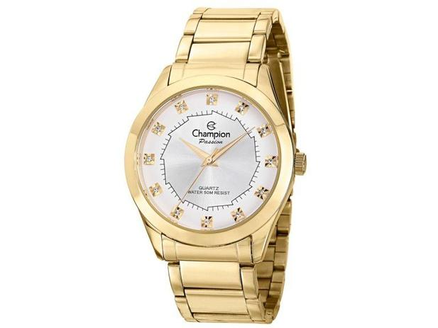 691b58c3da9 Relógio Champion Feminino Analógico Dourado CH24759H - Relógio ...