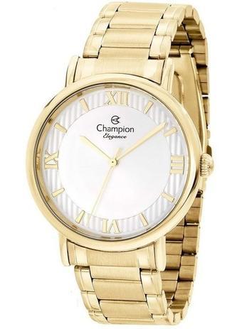 99a379f18c2 Relógio Champion Feminino Analógico Dourado CN25618H - Relógio ...